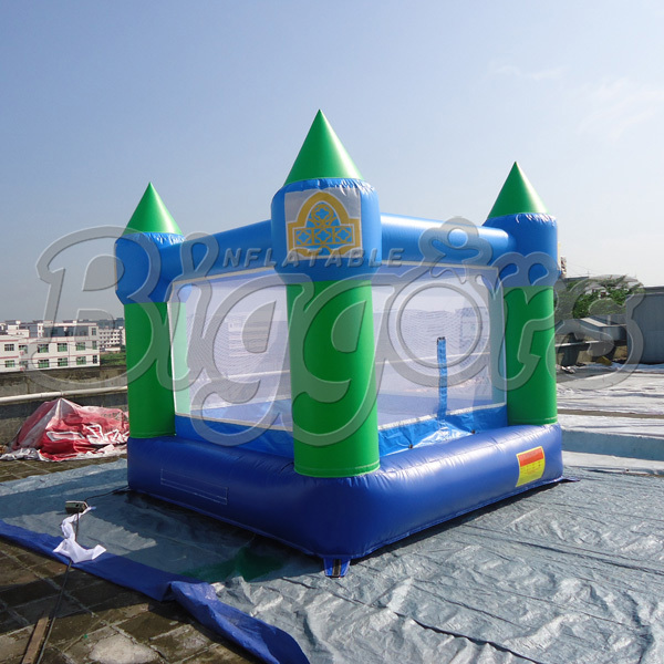 FREE SHIPPING BY SEA Cheap Inflatable Bouncer Inflatable Jumping House Bouncy Castle With Air Blower 2015 blue yellow inflatable jumping house free shipping