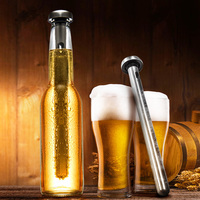 1pcs Magic Stainless Steel Whisky Cooling Rods Bar KTV Supplies Wiskey Wine Beer Cooler Ice Stick