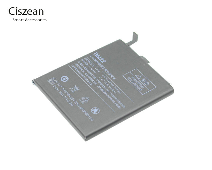 Ciszean Mobile-Phone Xiaomi Bm-22/bm22 Replacement-Battery 3000mah M5 For 5m-5 High-Capacity