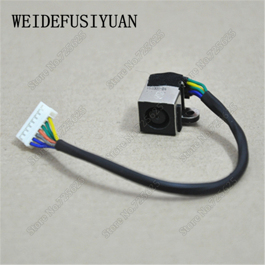 AC DC Jack Power Socket Cable Harness Wire For DELL XPS 17 L701X L702X genuine new laptop notebook ac dc power jack cable socket wire connector harness for acer aspire s7 s7 391 s7 392 50 4we05 001