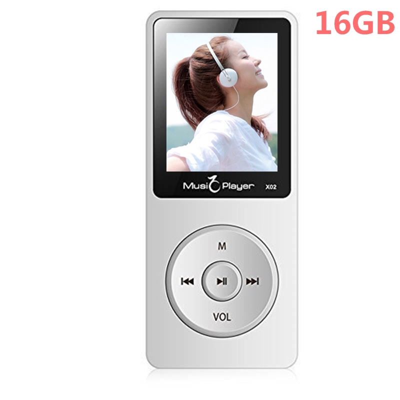 2017 Newest IQQ X02 16GB MP3 Player with Speaker 1 8 Inch Screen can play 80