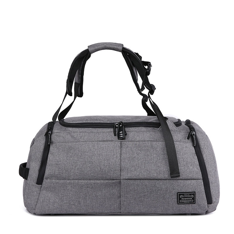 35L Multi-functional Anti-Theft Backpack Gym Bags Men Travel Backpacks Rucksack Sport Handbags Shoulder Bag For Shoes XA404WA