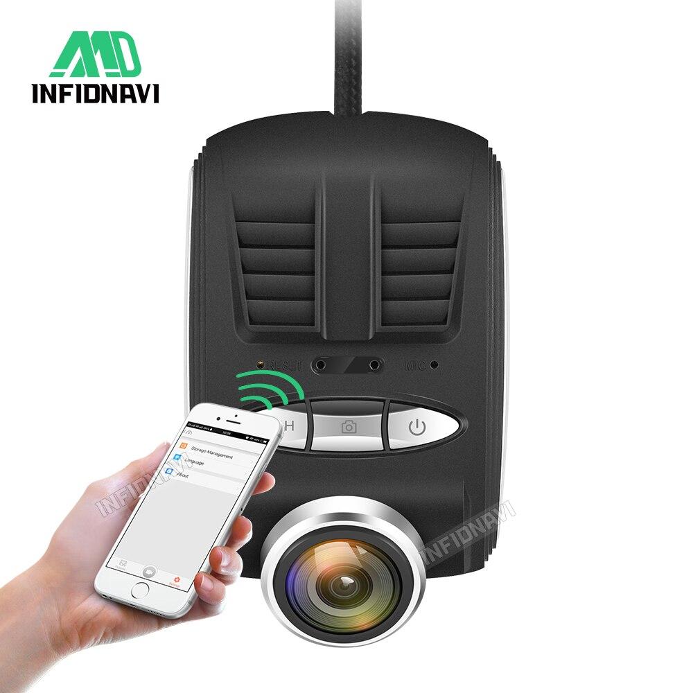 Infidnavi Video-Recorder Car-Camera Dvrs G-Sensor Wifi Night-Vision Hidden 170-Degree