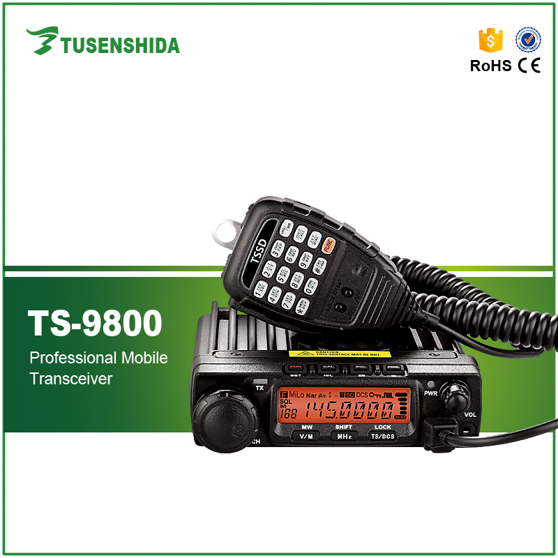 Ultra Long Distance 70W Power VHF 136 174MHZ Mobile Radio Transceiver for Marine, Car, Vehicle, Taxi, Bus, Ambulance