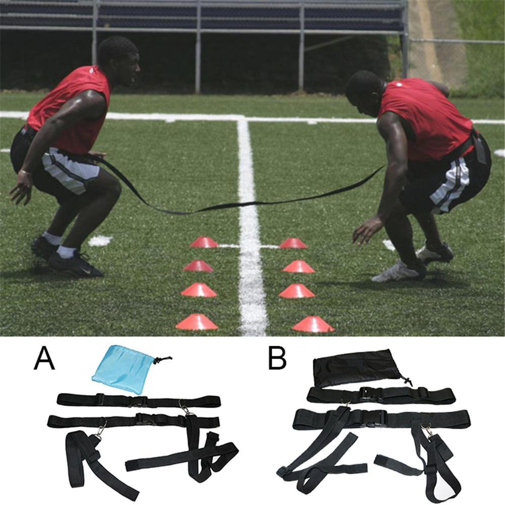 Children Adults Basketball Football Soccer Agility Training Belt Defensive Speed Reaction Training Straps Adjustable Length