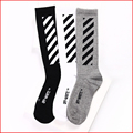 2017 New Brand Striped tie dye socks Men Hip Hop Compression Off White Socks Justin Bieber Long Mens Women Skateboard Socks