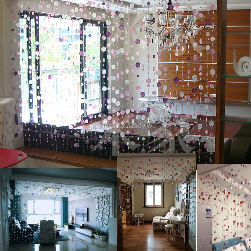Bead curtain crystal partition curtain finished product crystal bead -  Free Shipping Finished Product 20m Shell Crystal Bead Curtain Can Be Customized Decoration Door Crystal Curtain