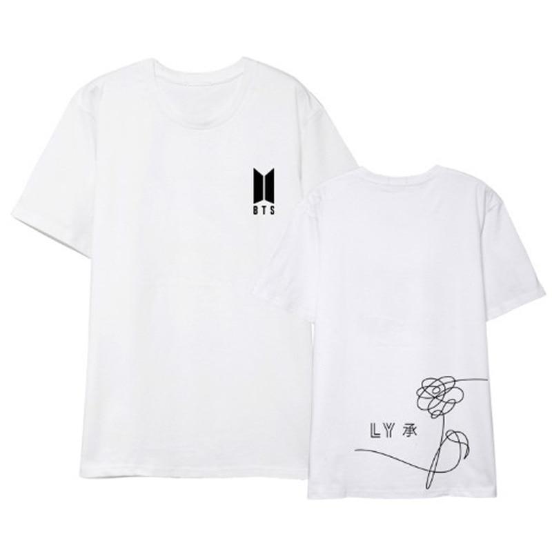 Usted tiene que asegurarse sobre que antes de comprar un ALIPOP Kpop BTS a  ti mismo cumpleaños álbum camisas Hip Hop Casual ropa camiseta T camisa  manga ... 9fc5440e6f2