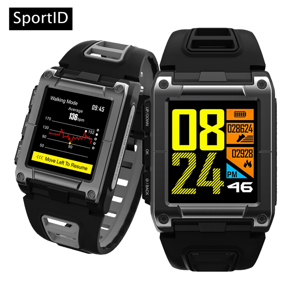 Smart Watch Waterproof Swimming Heart Rate S929 Alarm Clock Compass Wristwatch Bluetooth GPS Sport Fitness Track for Men Women
