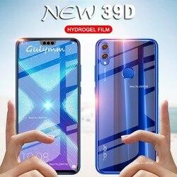 39D película hidrogel frontal y trasera para Huawei P20 P30 Lite Pro P Smart 2019 Protector de pantalla para Honor 8X10 Lite película Ultra delgada