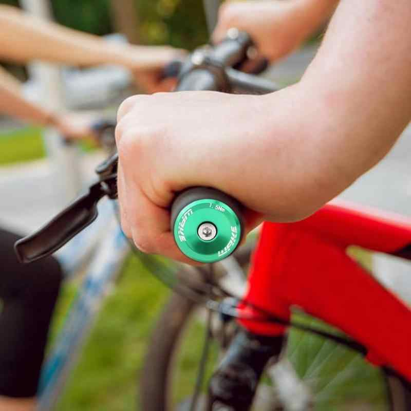 WAKE 1pair Aluminium Alloy MTB Bike Handlebar Grips Outdoor Bicycle Tools