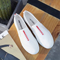 Zapatos de lona de men pedal estudiantes edición de han de ocio deportes zapatos blanco súper primavera otoño zapatos blancos zapatillas de deporte ayuda baja zapatos