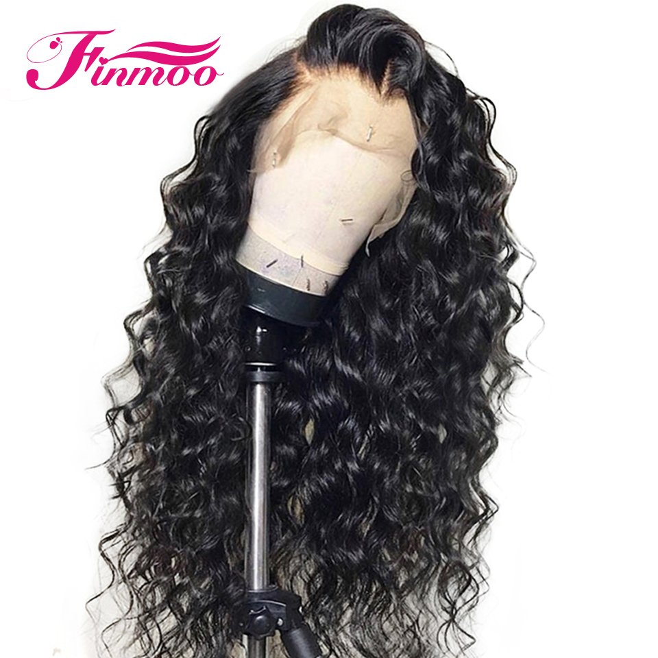 Curly 13x6 Lace Front Human Hair Wigs Pre Plucked With Baby Hair Peruvian Remy Hair Lace Front Wigs For Black Women Bleach Knots
