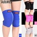 Aolikes 2 unids/lote Vóleibol rodilleras esponja gruesa deportes rodilleras soporte para danza baloncesto joelheira rodilleras protector
