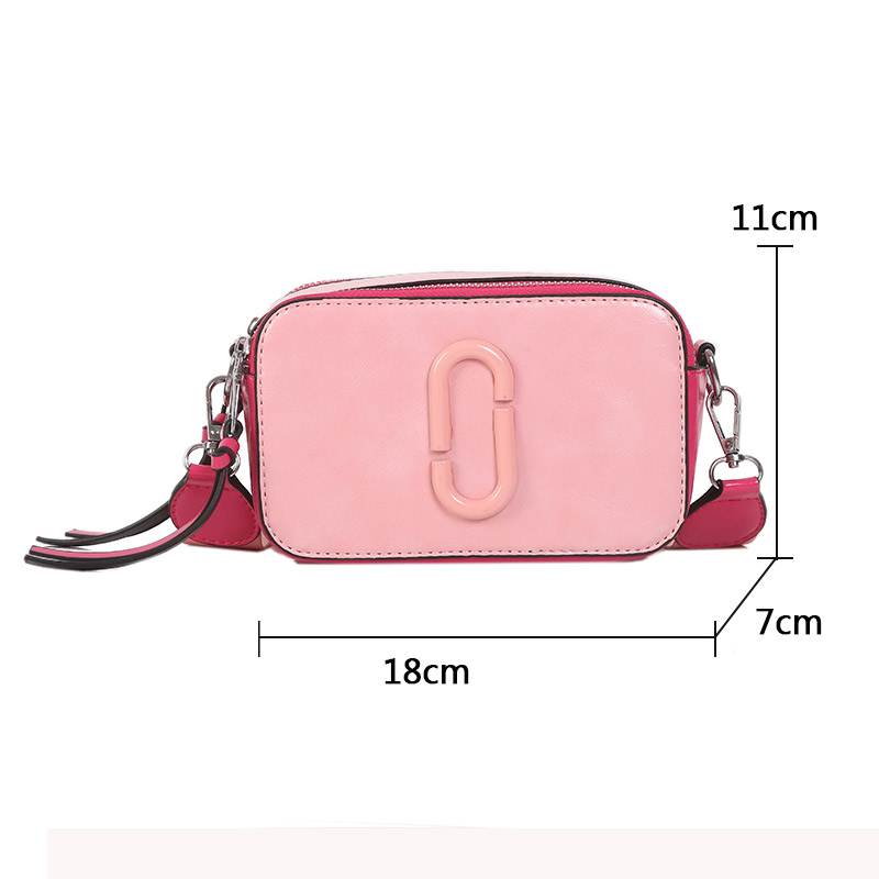 New Classic Small Flap bag women Luxury Leather Handbags Brand Designer Lady Messenger Bag Korean Style Camera Shoulder Bags in Shoulder Bags from Luggage Bags