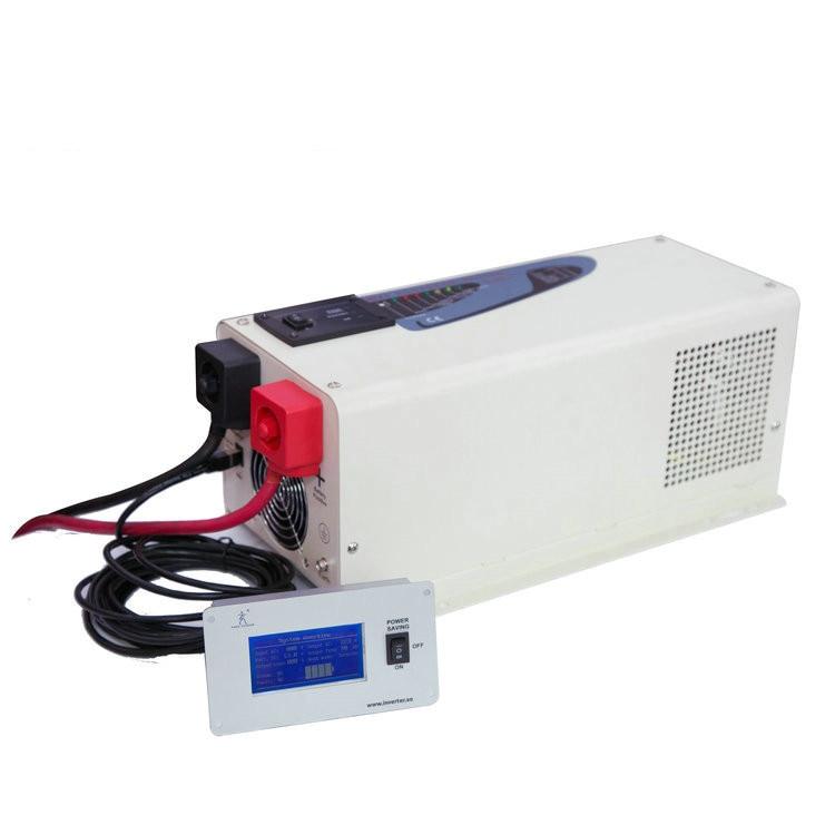Factory Directly Sell DC12V/24V to AC110V 220V 230V 240V Low Frequency Hybrid Caravan Inverter 1500W