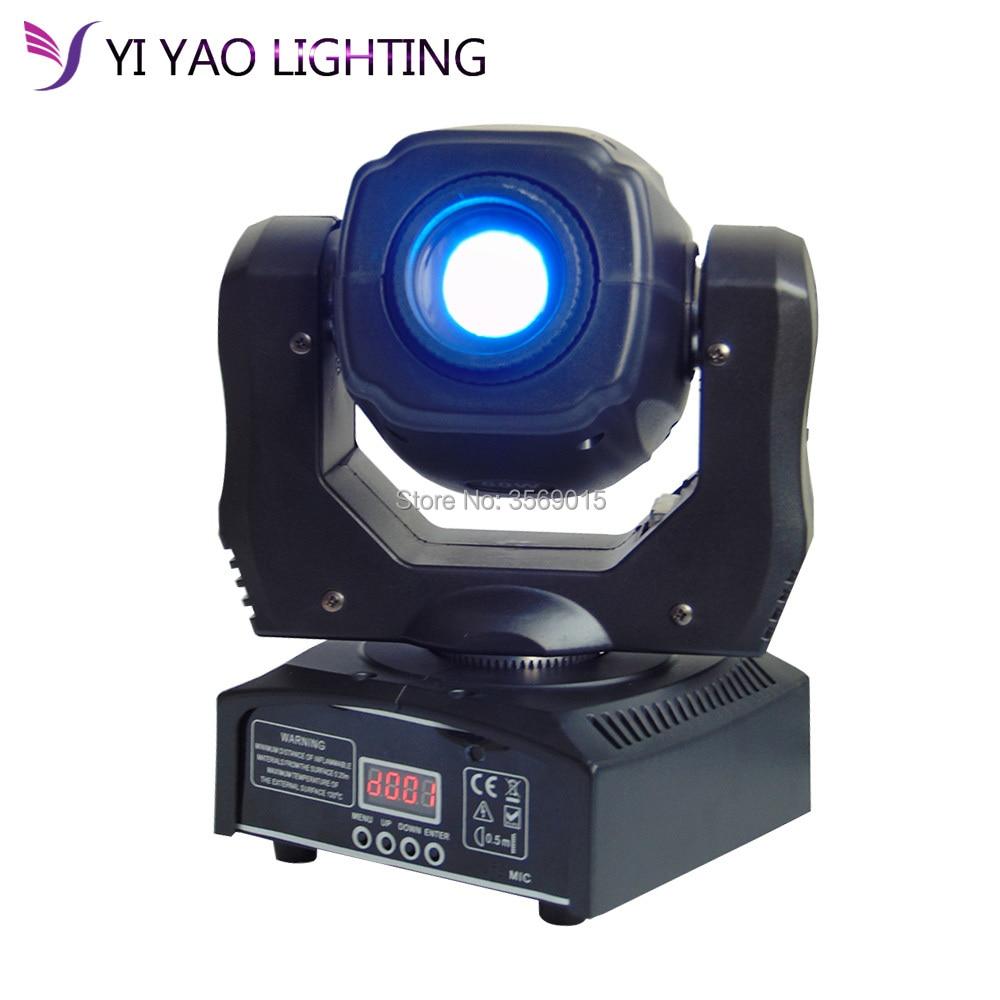Eyourlife LED Inno Pocket Spot Mini Moving Head Light 60W DMX dj 7 gobos effect stage lights багажники inno