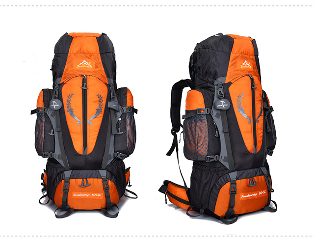 Mountaintop 85L Internal Frame Backpack for Outdoor Hiking Travel Climbing Camping  Mountaineering ea5136b1c98ac