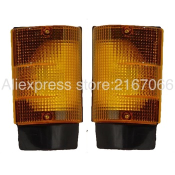 fits MITSUBISHI CANTER 1988 1989 1990 1991 1992 1993 1994 Turn Signal Light Marker Parking Corner PAIR