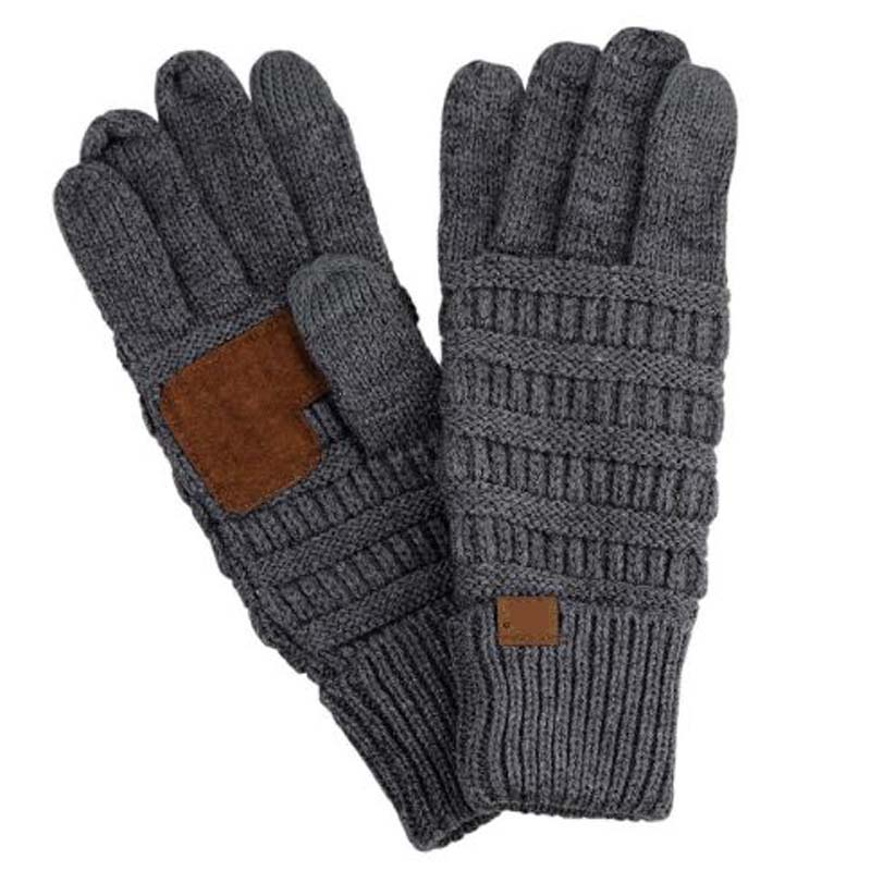 2019 Europe America Fashion Knitted Gloves Mittens Brand Autumn Winter Warm Touch Screen Cycling Gloves For Women And Men