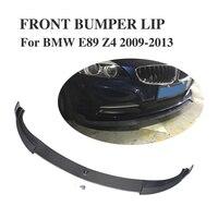 Углеродного волокна передний спойлер для BMW Z4 E89 Z series 2009 2013