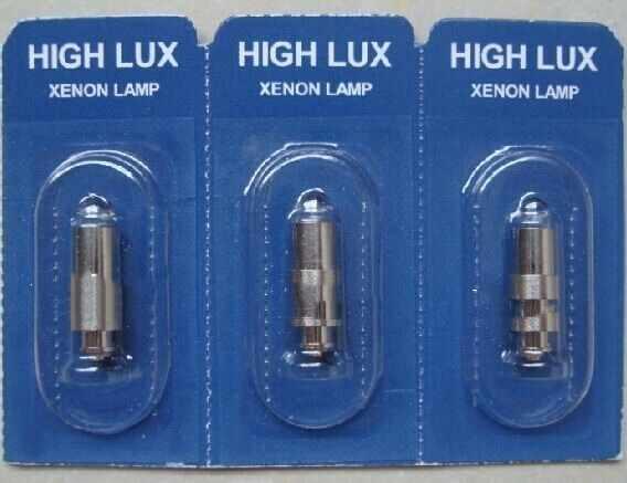 Untuk Tinggi Lux Lampu untuk Riester 2.5 V HL XL 10600, Otoscope Halogen Lampu LED, tidak Ada 3010 Ri-Mini RL-Scope Cahaya