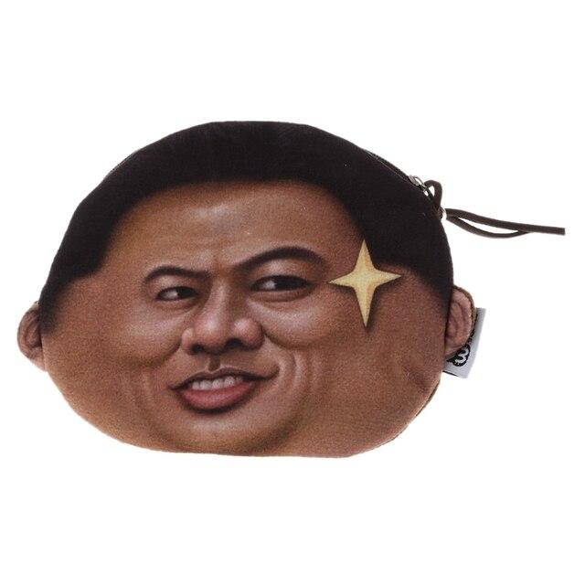 Funny Kim Jong Un Wallet Bag
