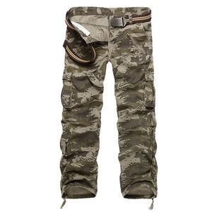 Image 3 - Mountainskin 男性の軍事マルチポケットパンツ屋外戦術的な緩いズボンハイキングキャンプ釣りクライミングブランド VA271