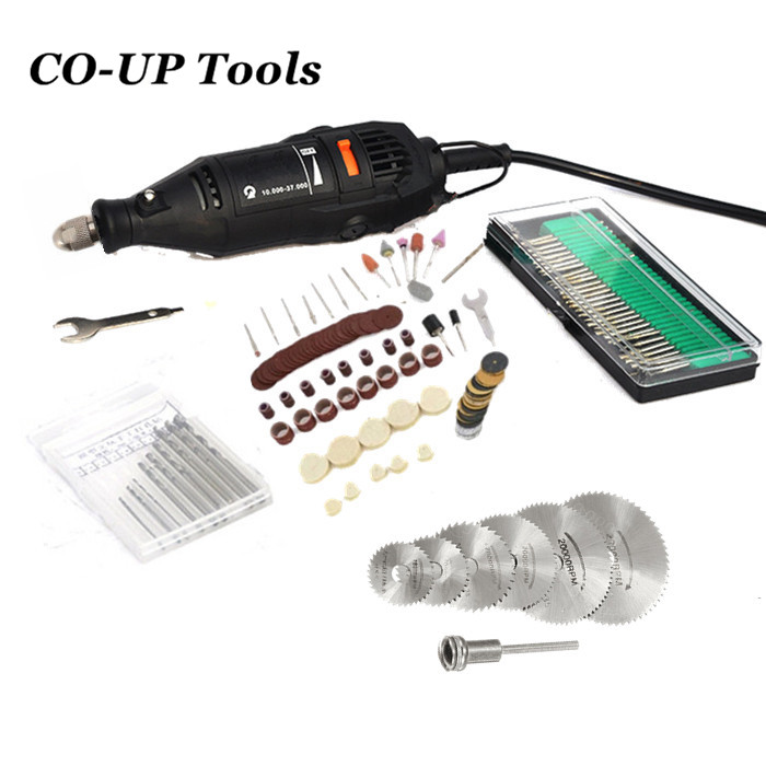 Mini Grinding Machine Electric Drill Die Grinder Variable Speed Rotary Tool and 150PC Accessories Power Tools free shipping dc mini electrical and adjustable speed drill electric grinding tools mini electric drill vajra bodhi diy tools