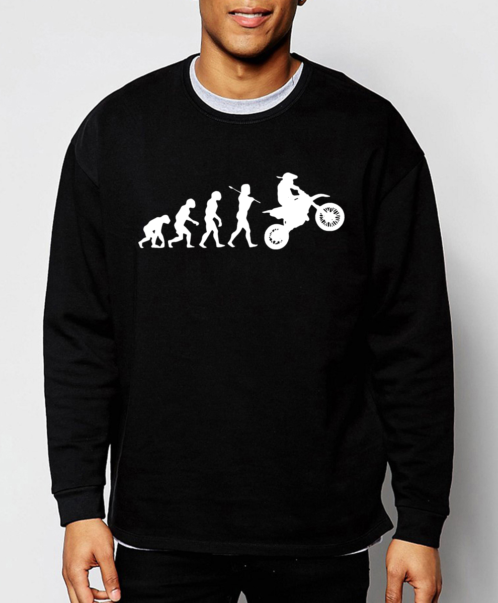 Evolution Motocross 2019 new arrival spring winter fashion Funny Dirtbike sweatshirts hoodies hip hop streetwear brand-clothing