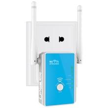 Wavlink 300 Mbps Wifi router/Access Point Wireless Range Extender Dual Band Externe Integriert Antennen UK/EU Stecker-blau