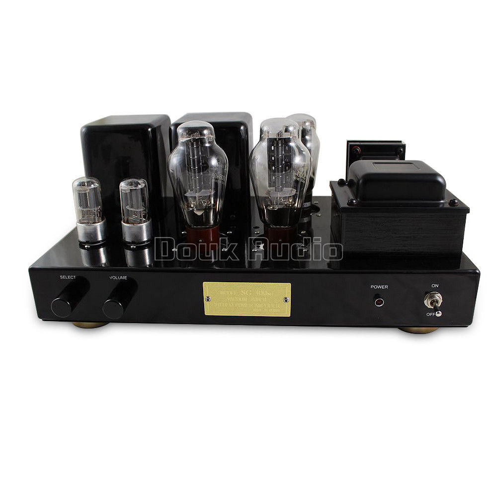 300B Vacuum Tube Power Amplifier Stereo Class A Single-Ended HiFi Integrated Amp music hall pure handmade hi fi psvane 300b tube amplifier audio stereo dual channel single ended amp 8w 2 finished product