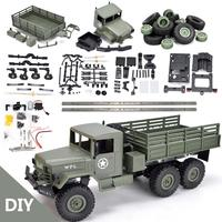 WPL B16K 1/16 remote control military truck 6 wheel drive off road remote control climbing car remote control car conversion acc