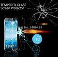 A prueba de explosiones protector de pantalla anti-arañazos de cristal templado de cine para samsung galaxy mega 6.3 i9200 con el paquete al por menor