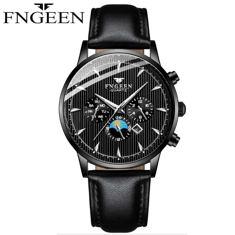 NIBOSI mode hommes affaires Homme Montre classique Quartz en acier inoxydable horloge Montre-bracelet Montre Homme Horloges Vrouwen