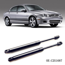 1 Set Rear Tailgate Boot Gas Struts Shock Struts Spring Lift Supports For Jaguar X-Type 2002-2008 2pcs for audi a6 c6 sedan 2005 2006 2007 2008 2009 2010 2011 car styling rear trunk tailgate lift supports gas struts gas spring