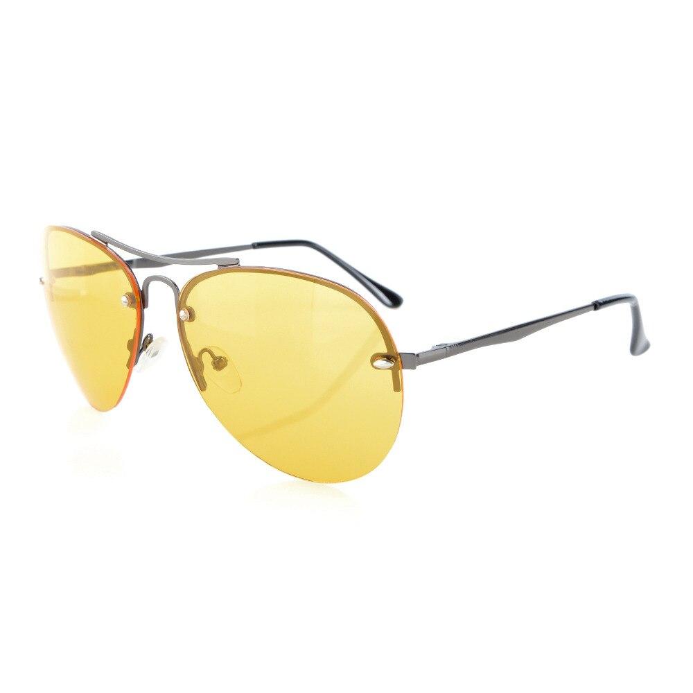 Eyekepper S16016 aro Meia-Piloto Estilo Amarelo Lente Em Policarbonato  Óculos de Dirigir À Noite 2d60a8f88c