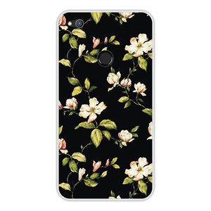 "Image 5 - Funda de silicona con diseño de flores para Huawei, Funda protectora con diseño de flores para Huawei P9 Lite 2017, 5,2 ""P8 Lite 2017"