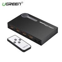 Ugreen Mini 3 Port HDMI Switch Switcher HDMI Splitter HDMI Port For XBOX 360 PS3 PS4