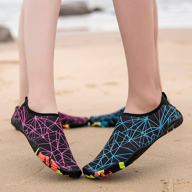 KLV  Couple Beach Shoes Swimming Water Shoes sport outdoor Barefoot Quick Dry Aqua Quick-drying Wading Swimming Shoes 5