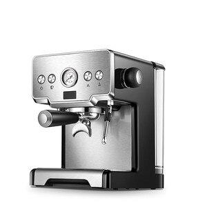 Image 3 - Máquina de Espresso italiana semiautomática a presión de 15 Bar, CRM 3605 de café comercial, cafetera con depósito de agua de 220V y 1,7 L