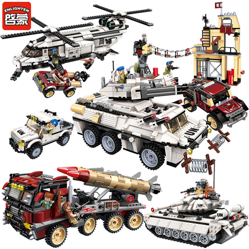 Military Building Blocks War Tank Panzer Chinook Helicopter Vehicle Army Gun Weapon UN Force Compatible LegoINGLs Bricks Toys