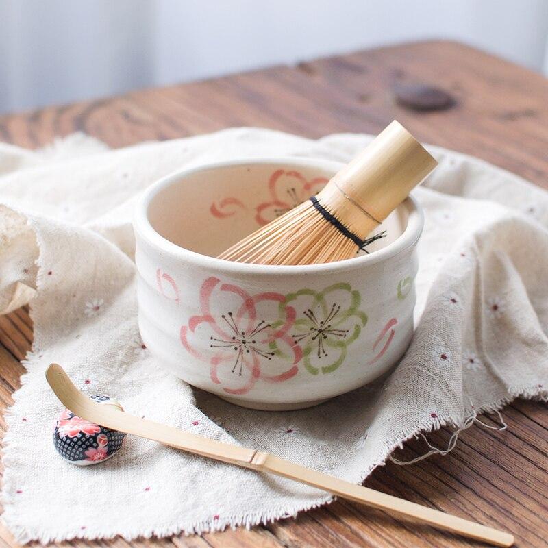 Cérémonie japonaise poterie sakura cerise matcha bol thé vert fabricant tasse glaçure thé thé Kung Fu set vintage nourriture chawan