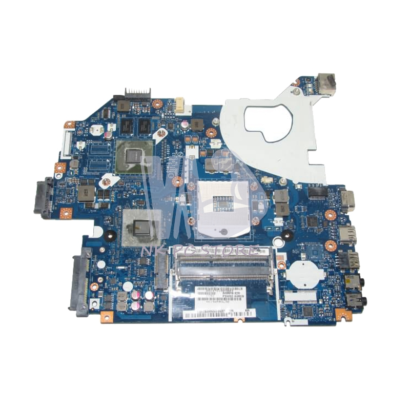 NOKOTION MBBYL02001 MB.BYL02.001 For Acer aspire 5750 5750G Laptop Motherboard LA-6901P HM65 DDR3 GT610M Video card mbrr706001 mb rr706 001 laptop motherboard fit for acer aspire 5749 series da0zrlmb6d0 c0 hm65