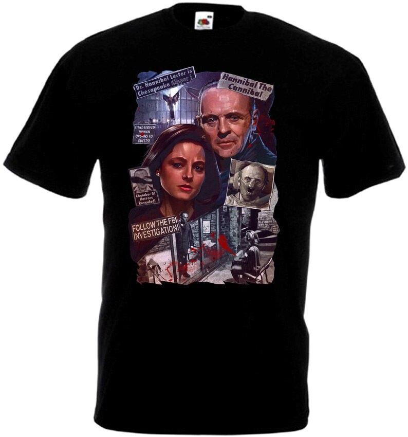 Забавная футболка с надписью «Silence Of The Lambs» Homme, Японская уличная футболка, сексуальные футболки для девочек, футболка с черепом, Xxxxl