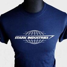 Stark Industries T Shirt Iron Man Tony Avengers Assemble Cool Comic Book Hero Bu