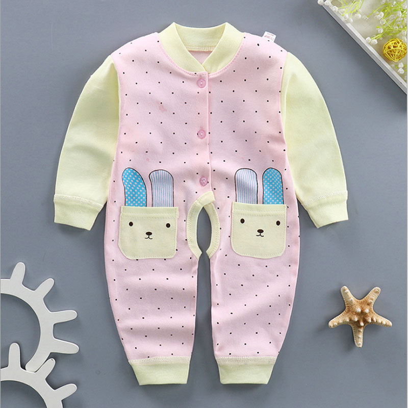 0-12M Newborn Baby Girl Clothes Brand Cotton Striped Long-Sleeved Set for Infant Babys Boys Clothing Outfit Sports Romper Suit