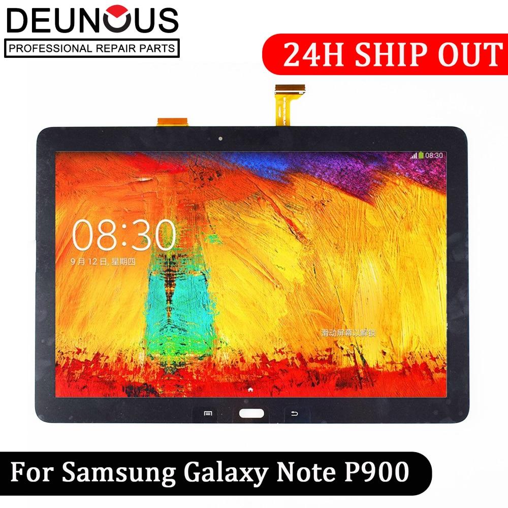 Nuevo 12,2 pulgadas para Samsung Galaxy nota Pro 12,2 P900 P901 P905 pantalla lcd con pantalla táctil combo Asamblea del digitizador panel