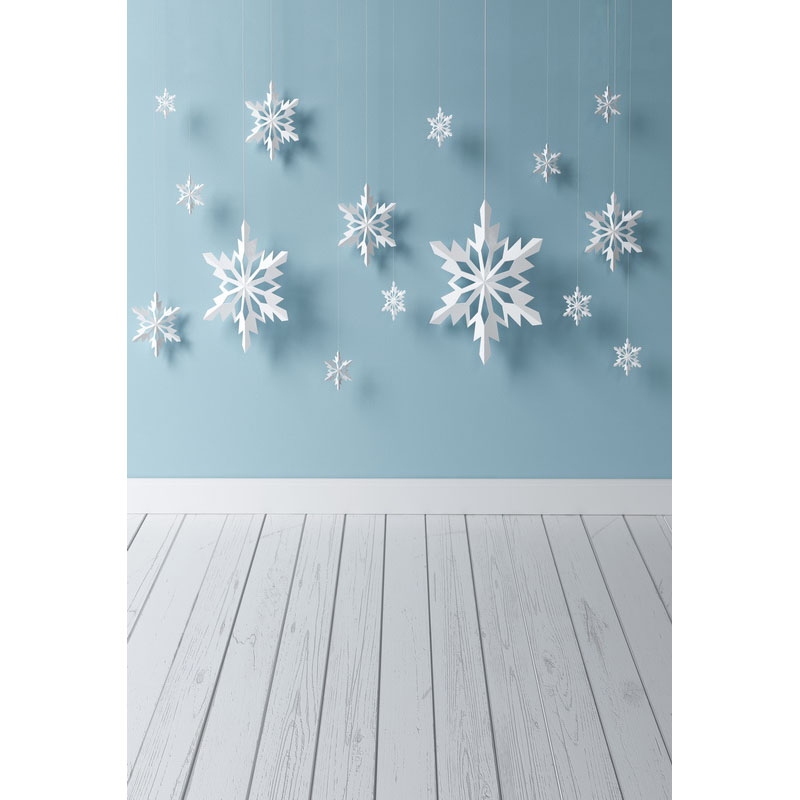 Seamless Vinyl Photography Backdrop Snow Blue Wall Wooden Floor Computer Printed Children Backgrounds for Photo Studio F-3203 photo vinyl backdrop top promotion studio photography backgrounds 6 5ftx10ft 2x3m computer paint foldable free shipping