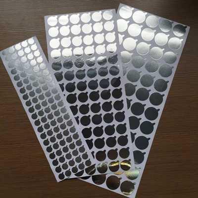 100 sztuk kosmetyczne butelka usta folia aluminiowa uszczelniania wklej wąż, wewnętrzna wtyczka uszczelnienie naklejki, kosmetyczne dozowania narzędzie, 11mm